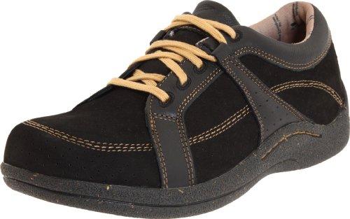 Drew Shoe Women's Geneva, Black Leather/Nubuck, 10