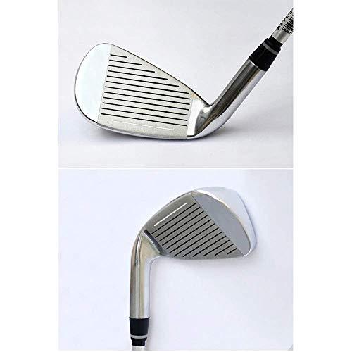 ZXL Golfschläger für Männer & Frauen Golfschläger für Anfänger Anfänger Eisen Gruppe 4/5/6/8/9 / p/s Stabiler Langer Golf Putter Golfschläger für Männer & Frauen (Farbe: Carbon Rod, Größe: 4)