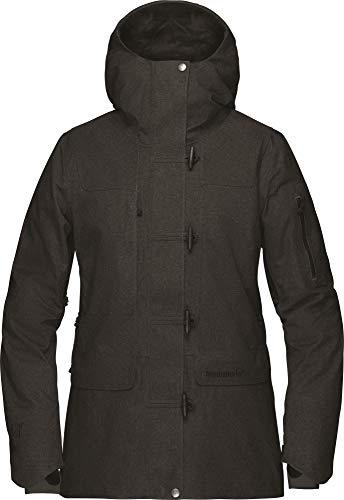 Norrona W Roldal Gore-Tex Insulated Jacket Schwarz, Damen Gore-Tex Isolationsjacke, Größe L - Farbe Caviar