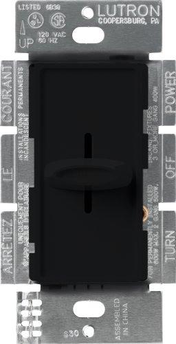 Lutron S-600-BL Lighting DIMMER, Black – $5.41 (65% Off)