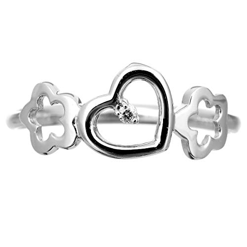 [ココカル]cococaru 一粒 ダイヤ リング ダイヤ リングモンド 指輪 レディース シルバー sv925 ギフト 贈り物 記念日 プレゼント 日本製 品質保証書 金属アレルギー(6)