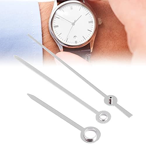 Reloj de 3 piezas, hora, minuto, segundo, agujas de reloj de metal ligero y duradero, piezas de reloj, accesorio de reloj para movimiento 1005