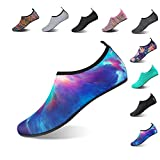 HMIYA Aqua Socks Beach Water Shoes Barefoot Yoga Socks Quick-Dry Surf...