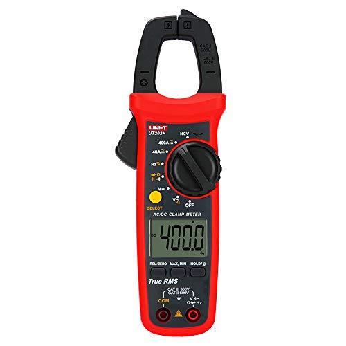UNI-T UT203+ Digital Clamp Meter AC/DC Current Multímetro Auto Range True RMS Max/Min Backlight Multimeter