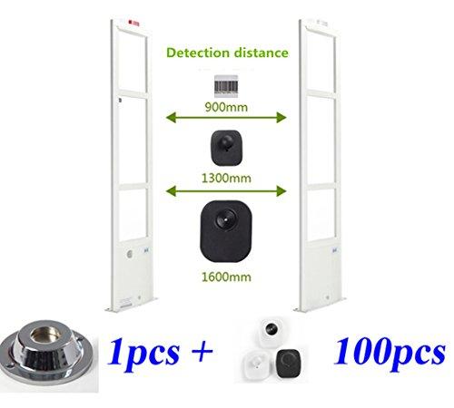 CGOLDENWALL 8.2Mhz eas systeem veiligheid deur eas antenne retail kleding winkel toegangscontrole systeem DSP board alarm systeem