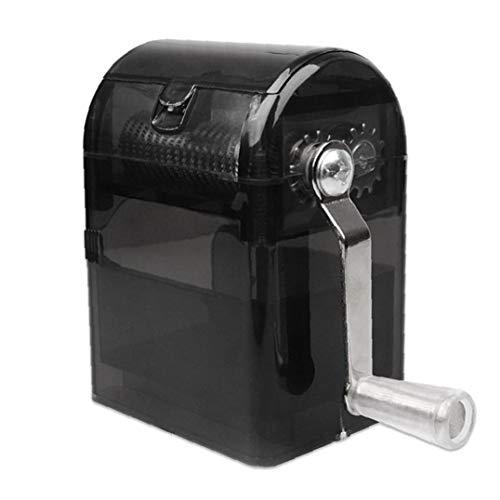 tJexePYK Molinos de la manivela trituradora de Tabaco Cortador Amoladora moleta de la Mano Trituradora Caso Fumadores u71101 picadora