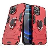 YukeTop Fundas para Samsung Galaxy A2 Core Funda, con Soporte, PC Dura, a Prueba de Caídas, Carcasa Funda para Samsung Galaxy A2 Core Case.(Rojo)