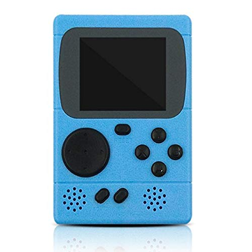 KIDWILL Handheld Game Console, 800mAh Battery Powered Portable Mini Game Player with 500 Retro FC Games, 3.0 Inch Color Screen Retro Game Console Support TV Out & Two Players for Kids Adults(Blue)