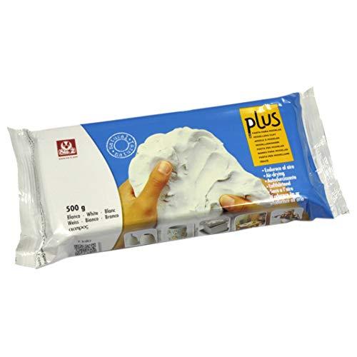 Sio-2 Plus 20220010 Pasta per Modellare, Bianco, 500 g
