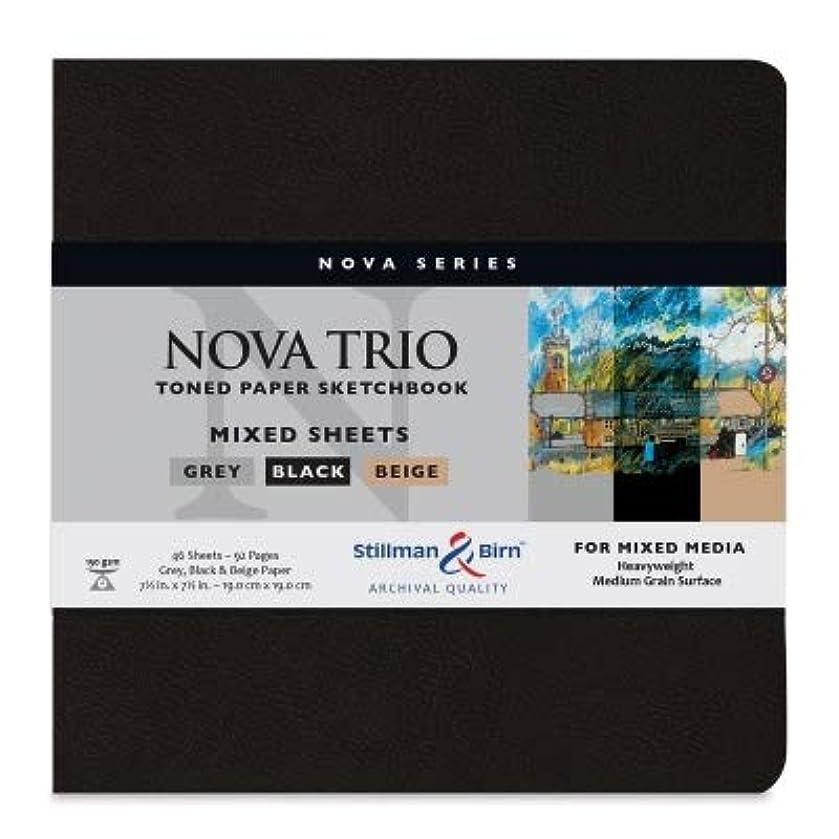 Stillman & Birn Nova Series Trio Softcover Sketchbook, 7.5