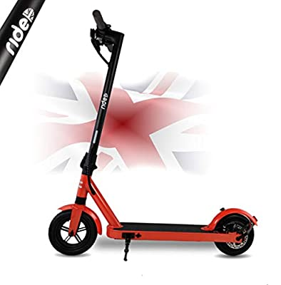 benson RIDE UK Hi VIZ (high visibility ORANGE) adult electric scooter (500 WATT max power) order up to and including 21st DEC. for XMAS DELIVERY! direct from our East Midlands headquarters.