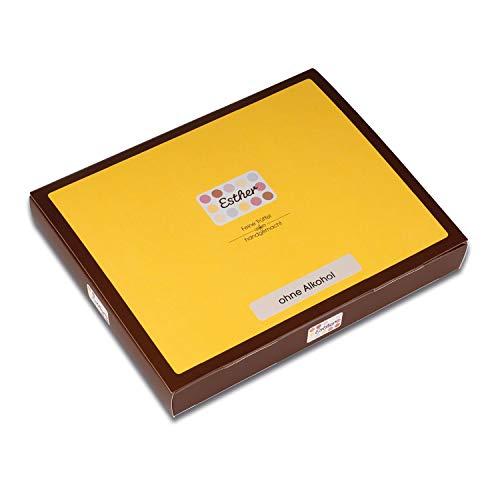 Esther 16er Klassikpackung - 215g Trüffel und Pralinen ohne Alkohol | edles Geschenk für Oma, Opa, Weihnachten, Ostern, Vatertag oder Muttertag