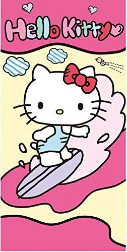 SETINO 821-527 Hello Kitty Strandtuch Badetuch 70cm x 140cm