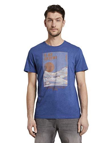 Tom Tailor Aufdruck Camiseta para Hombre