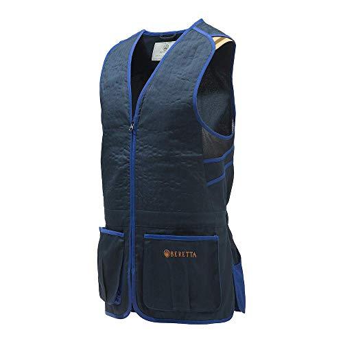 Beretta GT083 - Chaleco para tiro, color azul marino, color azul marino, tamaño medium