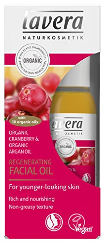 Lavera Regenerating Facial Oil Cranberry ∙ Rich & Nourishing ∙ 10 Organic Oils ∙ Vegan