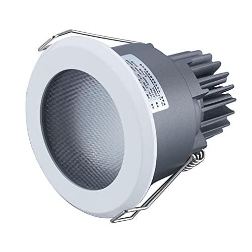 Mrdsre 8W / 10W LED Luz empotrable Techo Luz de Techo IP65 LED Downlights Cocina Proyectores LED Luces LED Techo Abajo Luces Interior para baño Sala de Estar Dormitorio (Color : 5000K, tamaño : 8W)