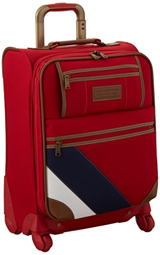 Tommy Hilfiger Monterey Social 21 Inch Upright, Red, One Size