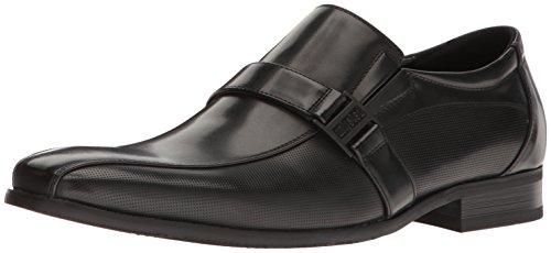 Kenneth Cole Unlisted Men's Beautiful Ballad Slip-On Loafer, Black, 13 M US