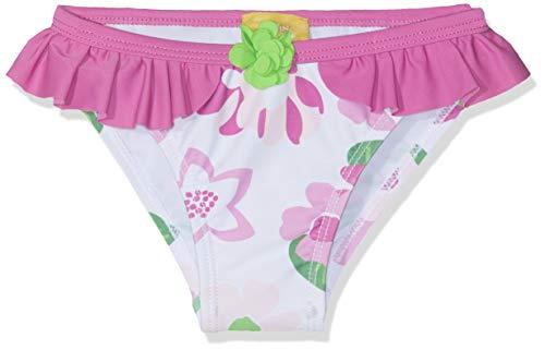 Chicco Baby-Mädchen Costume Da Bagno Slip Badebekleidungsset, Pink (Bianco E Rosa 031), 74 (Herstellergröße: 074)
