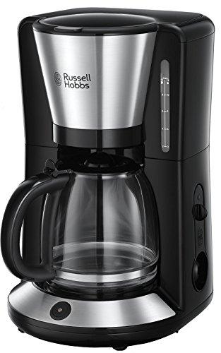 Russell Hobbs Machine à Café, Cafetière Filtre Familiale 1,25L, Maintien au Chaud, Technologie Stop Goutte - 24010-56 Adventure