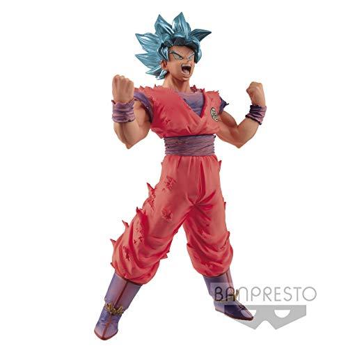 Banpresto Dragon Ball Z Blood of Saiyans Super Saiyan God Super Saiyan Son Goku (Kaioken) Action Figure image
