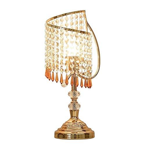 CHNOI Lámpara de mesa de lujo de la lámpara de la sala de estar dormitorio lámpara moderna minimalista atmósfera