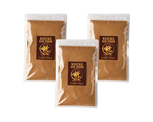 糀屋本店 キスケ糀パワー カレースパイス(化学調味料・油・小麦粉不使用) 120g袋入り 3個セット
