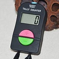 Matedepreso Contador Agregue Resta para Golf Deportes Sonido Pantalla LCD Calculadora Mini Electrónica Digital Manual Portátil
