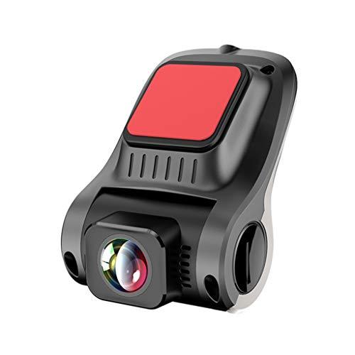 HSKB Mini-DVR-camera, wifi, 1080P, Full HD, achteruitrijcamera, camcorder met 170 graden groothoeklens met G-sensor, nachtzicht, bewegingsdetectie, lus-opname, onopvallende dashcam