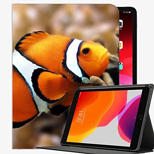 para iPad Pro 12.9 Pulgadas Funda 2021 2020 2018, Funda de natación de Color subacuático de Pescado Cubierta Delgada de la Cubierta Delgada para iPad Pro 12.9 Pulgada