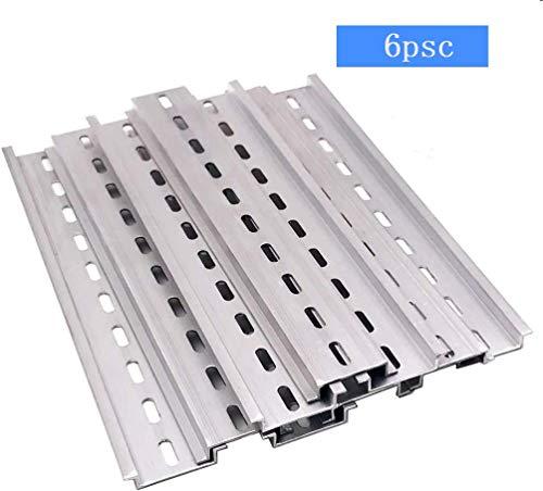 6Stk montageschiene din hutschiene Hängeschiene Schrank für Verteilerschrank Schaltschrank einbau, 35mm breit, 7,5mm hoch, lang 200mm