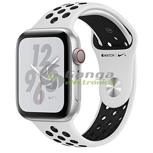 Apple Watch Nike+ Series 4 Smartwatch OLED Cellulare GPS, Argento