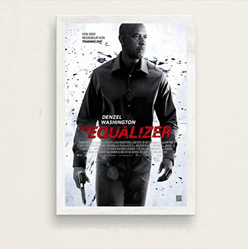 zpbzambm Cuadro En Lienzo 40X50Cm Sin Marco,El Ecualizador De Denzel Washington Film Series Art Silk Painting On Canvas Wall Poster Home Decor Zp-2207