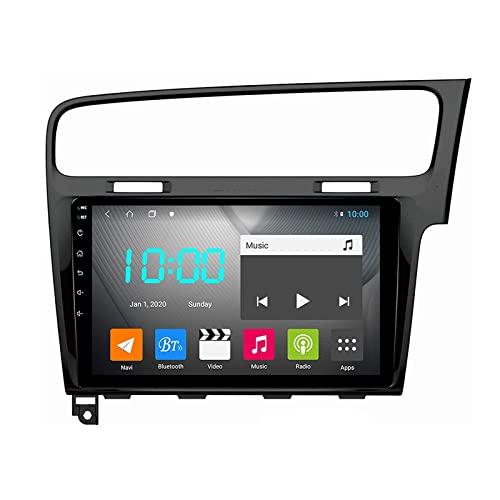 YLCCC Auto Radio stereo Android 10.0 Sat nav Per Golf 7 2013-2016 GPS Navigazione Multimedia Video Player Supporto 4G+Wifi/SWC/Carplay/Bluetooth/DSP/Touch Screen/mirror link,8 Core 4G+WiFi: 4+64GB