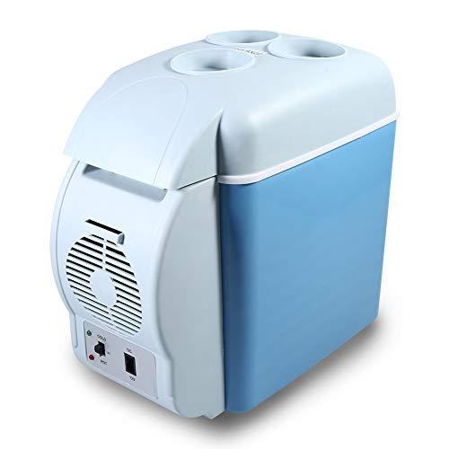 Cocoarm 7.5 Liter Kühlbox Kühlschrank Thermo elektrische Kühlbox, warmhalten oder kühlen, Kühlschrank Tragbare KFZ Kühler 12V ZI6 für Auto, LKW, Steckdose, Camping