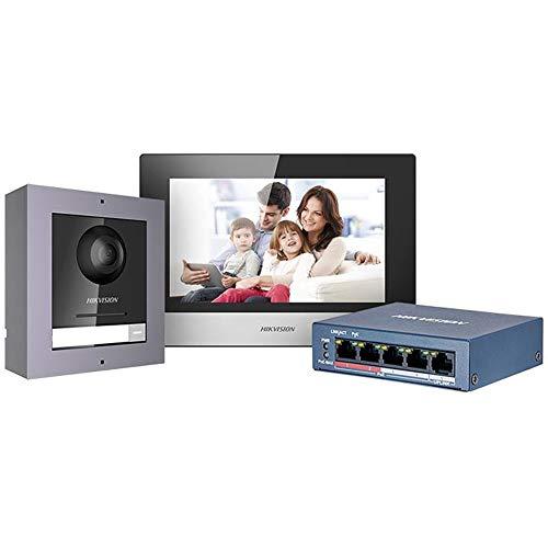 """Kit de videoportero Hikvision IP 7"""" DS-KIS602"""
