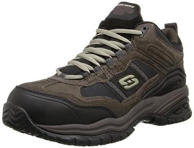 829922d828a3 Skechers for Work Men s 70727 Soft Stride Canopy Slip Resistant Work Boot
