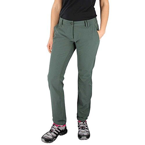 adidas Outdoor Women's Comfort Softshell Pants, Utility Ivy, Small