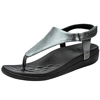 UTENAG Womens Arch Support Sandals Orthotic Adj...