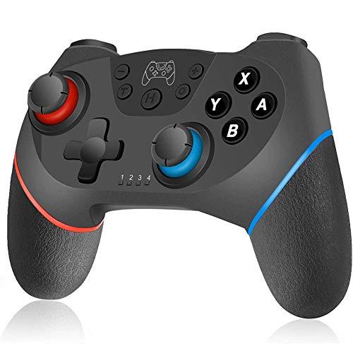 HUJUNG Wireless Controller Wiederaufladbare Bluetooth Gamepad fur AndroidSwitch Gaming Trigger Joystick Handy Game Controller mit Telefon Halter
