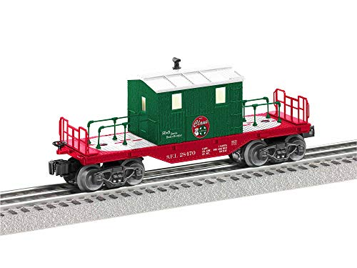 Lionel Santa Freight Lines, Electric O Gauge Model Train Cars, Christmas Transfer Caboose