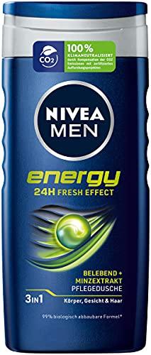 Nivea Men Energy Gel de ducha, 250 ml