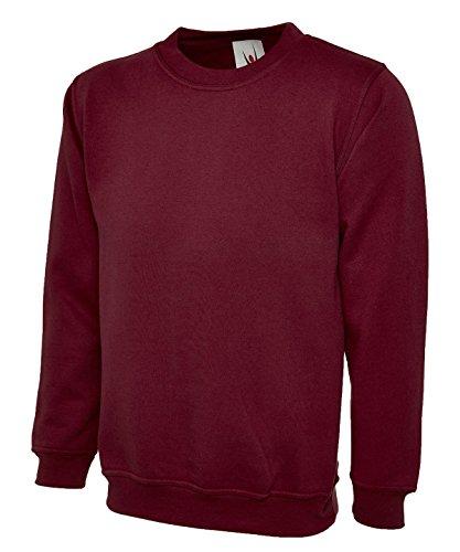 Uneek Olympic Sweatshirt UC205 Plain Jumper