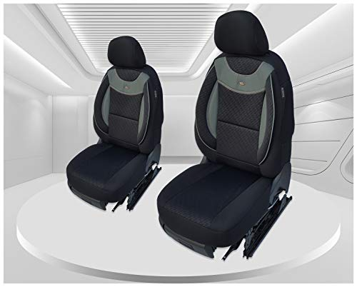 Maß Sitzbezüge kompatibel mit Ford Ranger Fahrer & Beifahrer ab 2009-2014 Farbnummer: G101