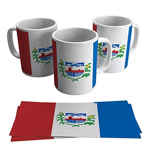Caneca Alagoas Bandeira Estados Presente Souvenir Lembrança