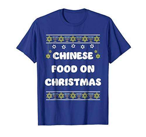 Funny Hanukkah Christmas T Shirt Gift For Men Women Kids