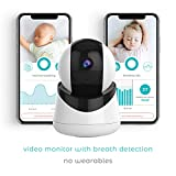 Baby Breathing Monitor - Breathing Monitor for Newborn - Live Video Encoder - Baby Oxygen Monitor - Baby Movement Monitor - Video Baby Monitor Breathing - Baby Monitor Smart Beat