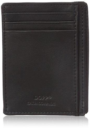 Dopp Men's Regatta Front Pocket Get-away Minamalst Slim Wallet, Black, One Size