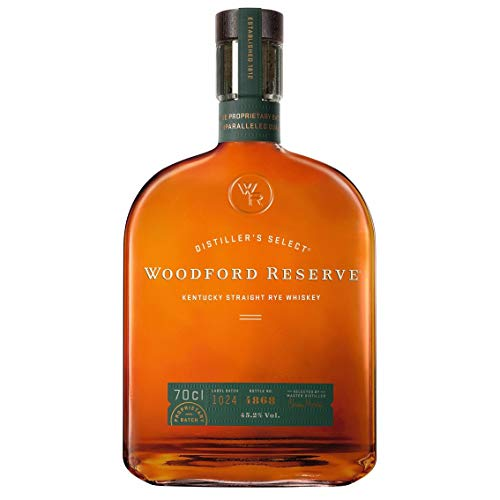 Woodford Reserve Kentucky Straight Rye Whiskey - 45.2% Vol. (1 x 0.7 l)